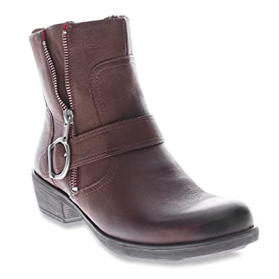 Spring Step Womens Brown Boots Chickadee
