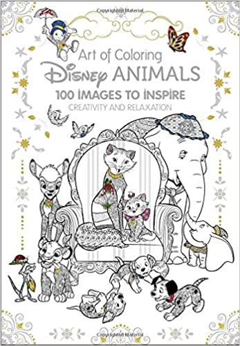 Amazoncom Art of Coloring Disney Animals 100 Images to Inspire