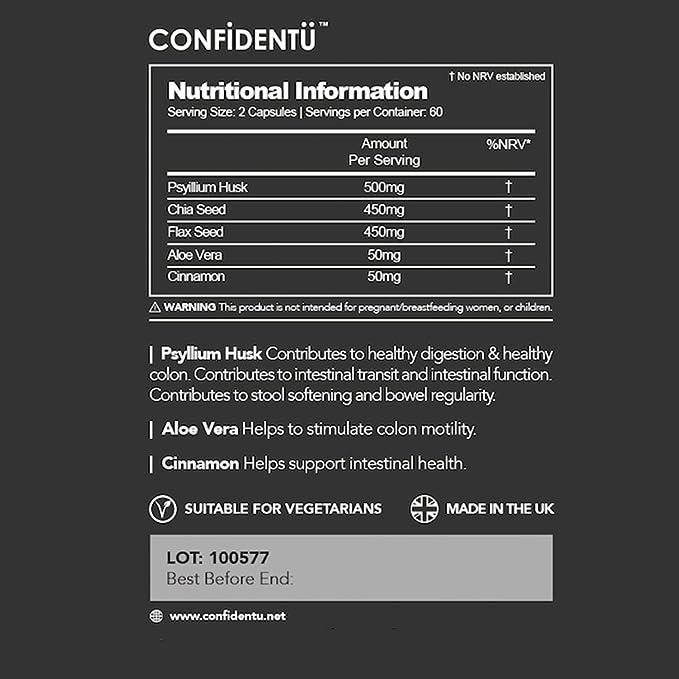 CLEAN Confidence Apoyo de la regularidad del intestino - 60 ...