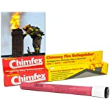 Chimfex By Orion Safety Products - CSIA Approved Chimney Fire Extinguisher - Safe, Quick and Easy - Stops Chimney Fires…