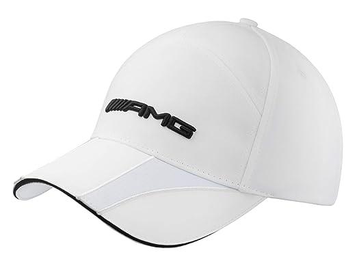 Mercedes-Benz - Gorra de béisbol - para Hombre Blanco Weiß Talla única: Amazon.es: Ropa y accesorios