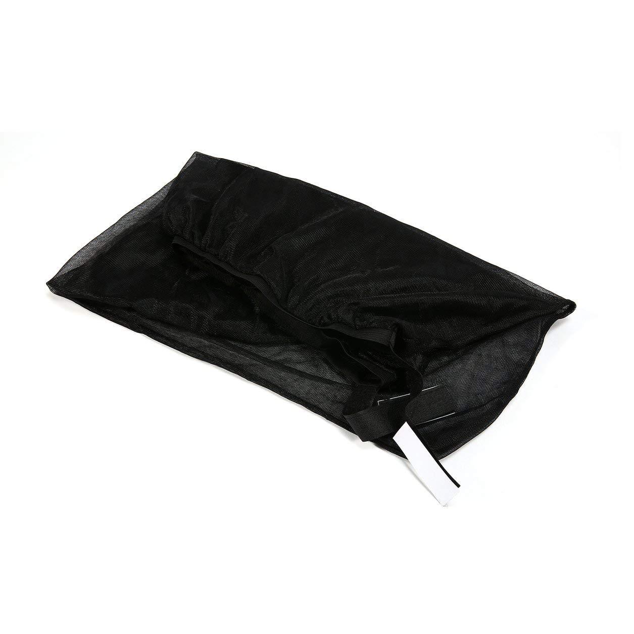 Dailyinshop 2Pcs Car Side Rear Window Sun Shade Mosquito Proof UV Protection Mesh Curtain