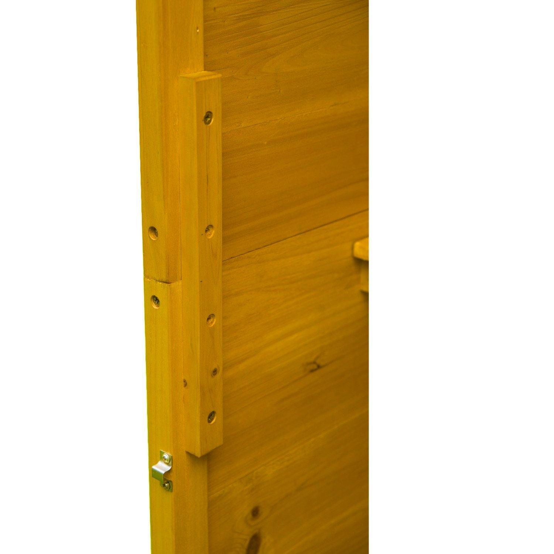 Armadio ripostiglio da interni in legno for Amazon armadi legno