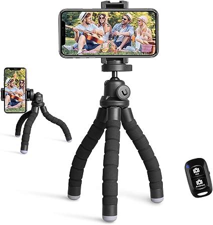 UBeesize Portable Phone Tripod And Adjustable Camera Stand Holder