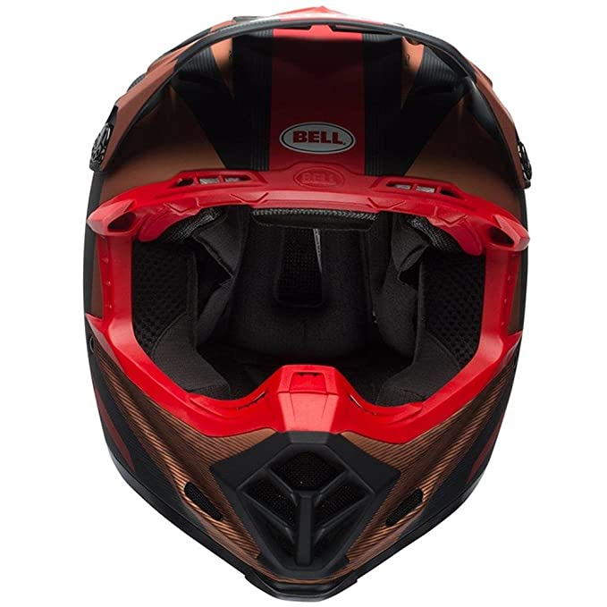 Bell Cascos Moto-9 Flex tornillo de banco, negro/cobre, tamaño M: Amazon.es: Coche y moto