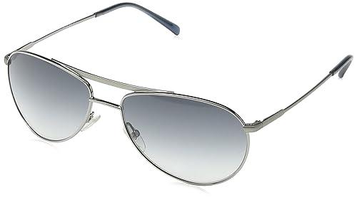 Giorgio Armani - Occhiali da sole GA 916/S Aviatore, Gunmetal Grey Frame / Gradient Grey