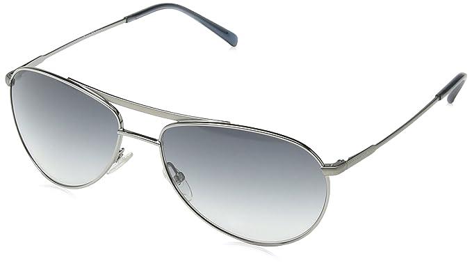Giorgio Armani - Gafas de sol Aviador GA 916/S, Gunmetal ...