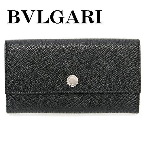 ブルガリ BVLGARI 財布 長財布 メンズ 二つ折り CLASSICO クラシコ ブラック 27749 B00SKVVHP8