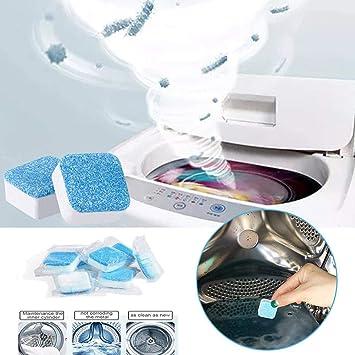 24 pastillas limpiadoras para lavadora, pastillas de limpieza ...