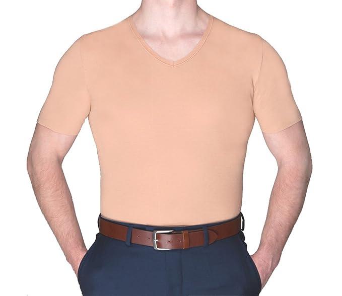 Mens nude undershirt