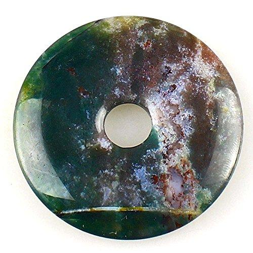 Beautiful Jasper Pendant (Beautiful Sea Sediment Jasper Donut Pendant Bead 50mm Indain agate )