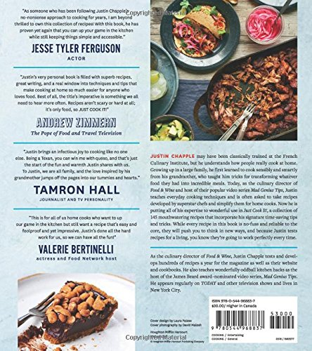 Just cook it 145 built to be easy recipes that are totally just cook it 145 built to be easy recipes that are totally delicious justin chapple 9780544968837 amazon books forumfinder Image collections