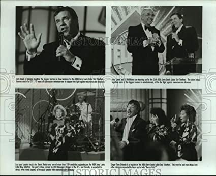 Amazon Com 1996 Press Photo Entertainers On Television S Jerry