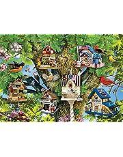 Ravensburger Bird Village Puzzle 1000pc,Adult Puzzles