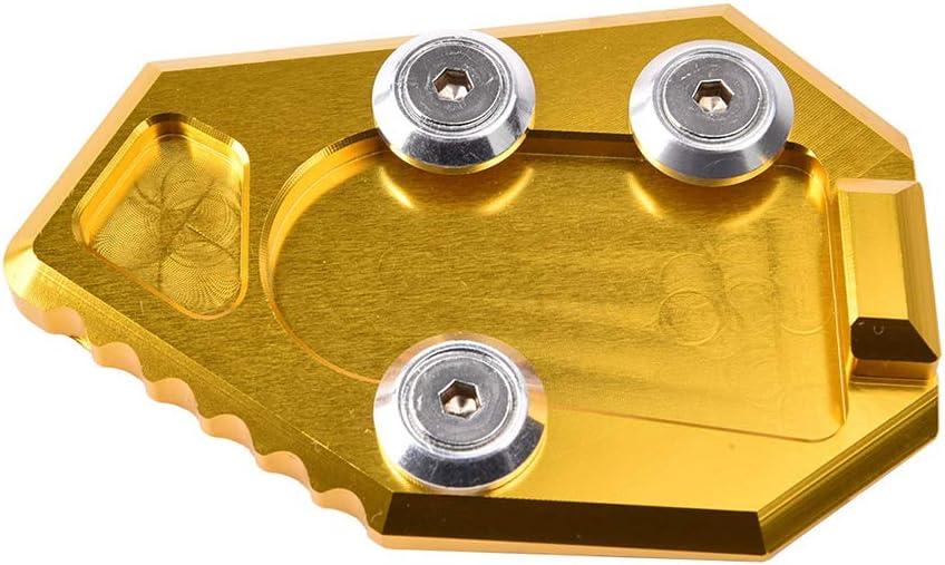 Bleu XX eCommerce Moto Support d/élargisseur en Aluminium pour /élargissement du Pied de b/équille lat/érale de Moto pour 2008-2014 H-o-n-d-a CB1000R CB-1000-R 2009 2010 2011 2012 2013