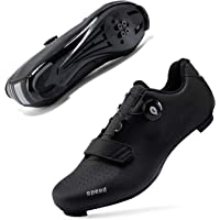 Cleat Men SPD Shoes for Indoor Spin Road Racing Bikes ziitop Mens Cycling Shoes Road Bike Spin Shoes with Buckle