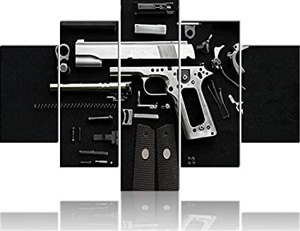 Amazon Com Home Decor In Black And White Extra Big Wall Pictures