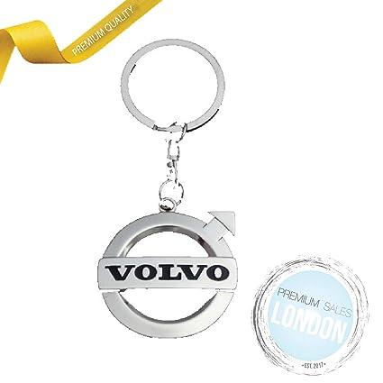 Premium Sales London PSL Volvo - Llavero de Metal Cromado 3D ...