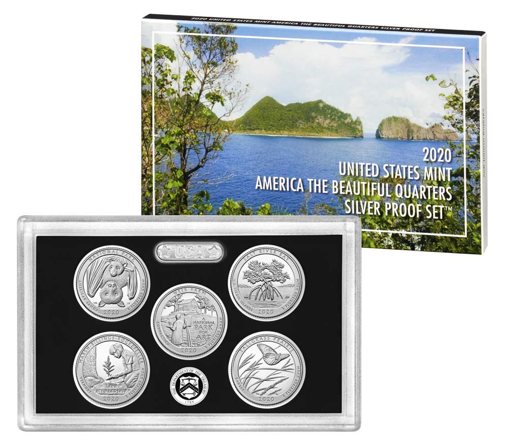 2013 *SILVER*  Proof Set Box and Lenses ONLY