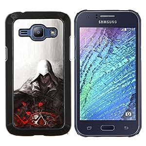 LECELL--Funda protectora / Cubierta / Piel For Samsung Galaxy J1 J100 -- Asesino --
