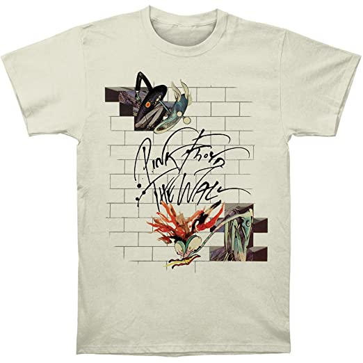 Amazon.com: Pink Floyd Mens The Wall Wife & Teacher T-Shirt White: Clothing
