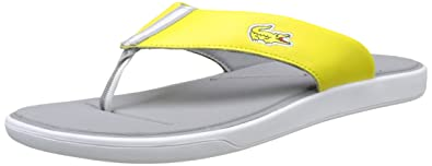 Lacoste Herren L.30 117 1 Cam Flip Flops, Flops, Flip Gelb (Ylw), 39.5 EU ... 103bf1