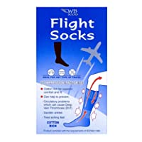 Cotton Rich Anti-DVT FLIGHT SOCKS - Choice of Sizes