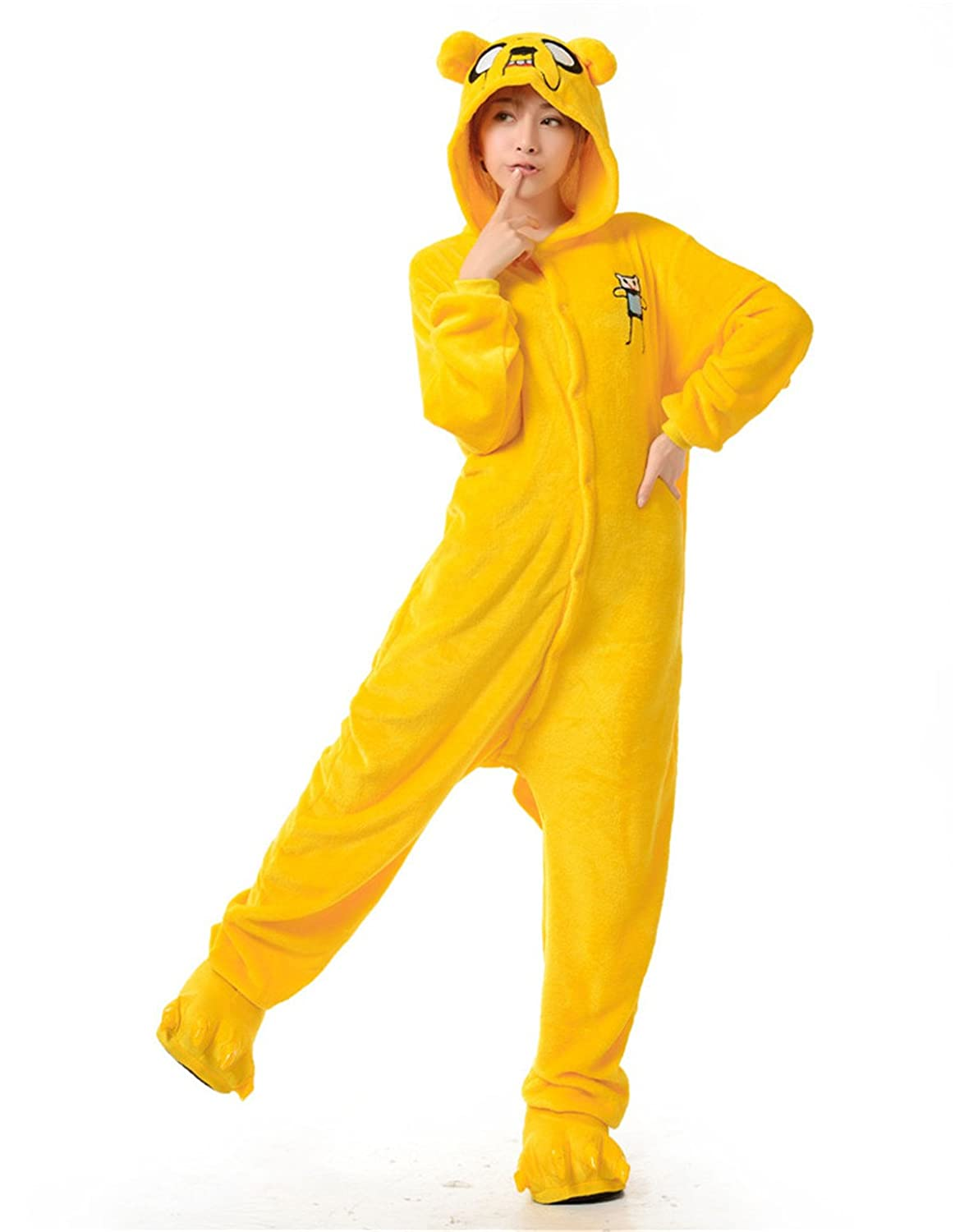 Amazon.com: VU ROUL Adult Halloween Costumes Kigurumi Onesies Pajama Cosplay Unisex Lounge: Clothing