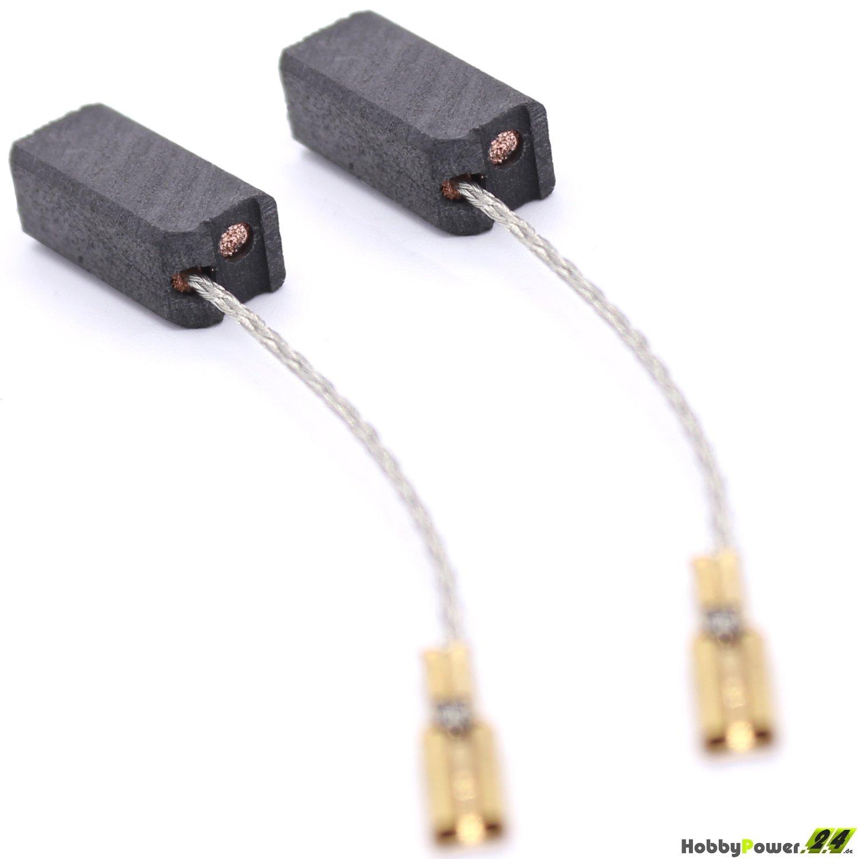 Kohlebürsten Kohlen Motorkohlen für FLEX LD 15-10 125 6,3x8x16mm 399647-F03