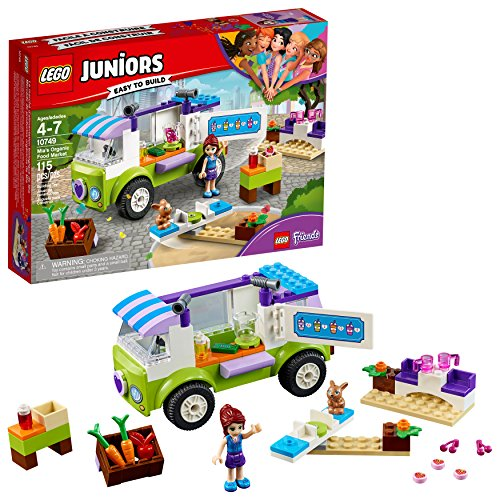 LEGO Juniors/4+ Mias Organic Food Market 10749 Building Kit (115 Piece)