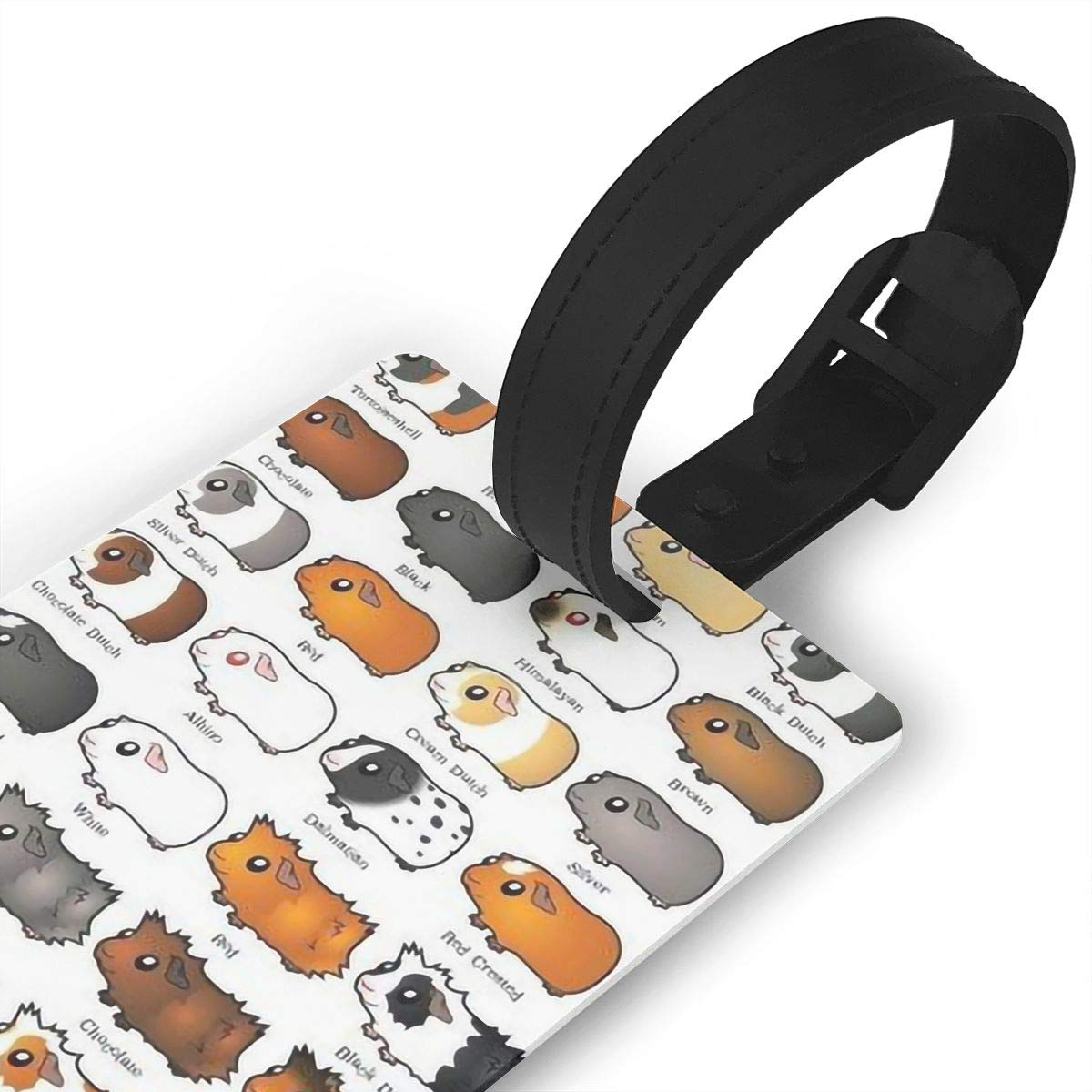2 Pack Luggage Tags Guinea Pig Baggage Tag For Travel Tags Accessories