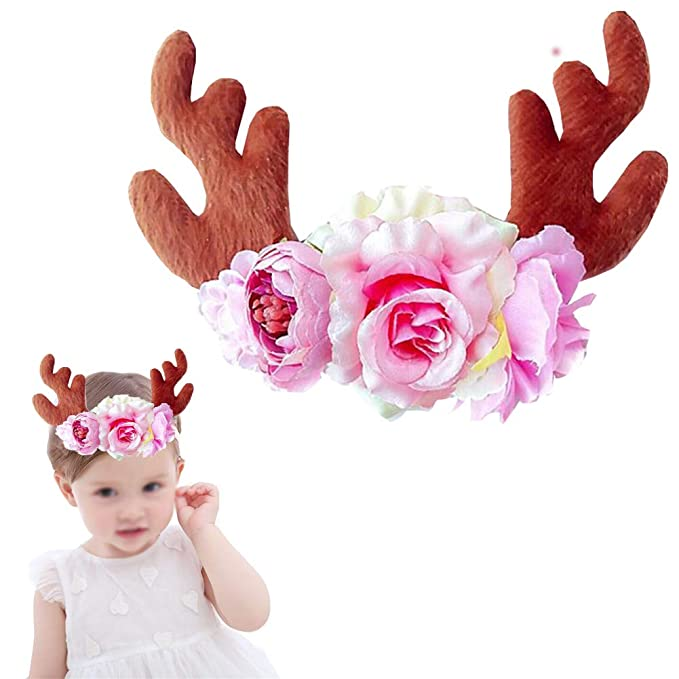 Christmas Headband For Baby Girl.Amazon Com Zaptex Christmas Headband Baby Girls Kids