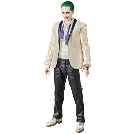 cbf5c7162b2b Amazon.com  Medicom Suicide Squad The Joker Suit Version MAF EX Figure   Toys   Games