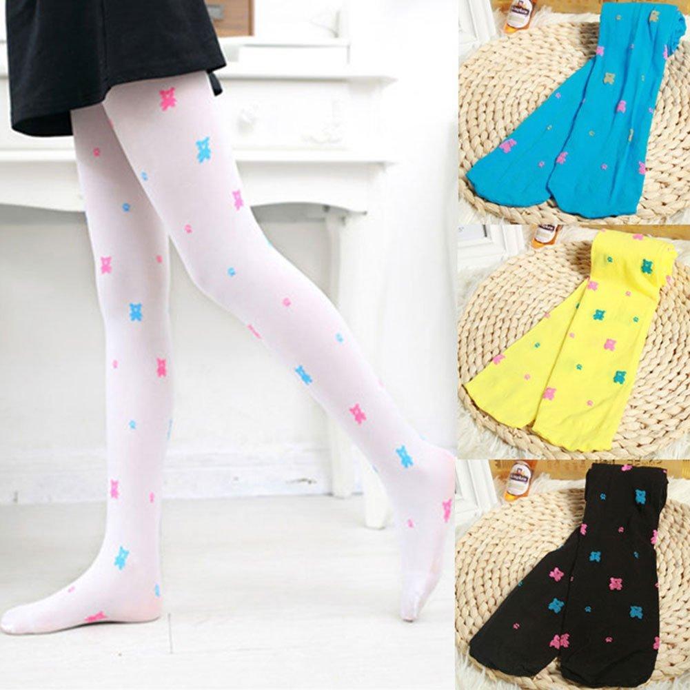 M/&A Tights for Girls Kids Dance Leggings 4-Pack