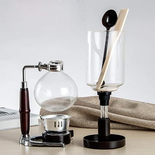 DecentGadget cafetera sifón/sifón sifón de café al vacío de ...