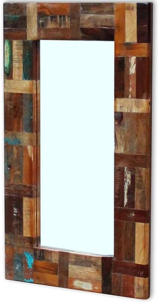 Badezimmerspiegel Antik.Mobel Wohnen Badezimmer Spiegel Vidaxl Massivholz Wandspiegel Flurspiegel Holzspiegel Badezimmerspiegel Antik