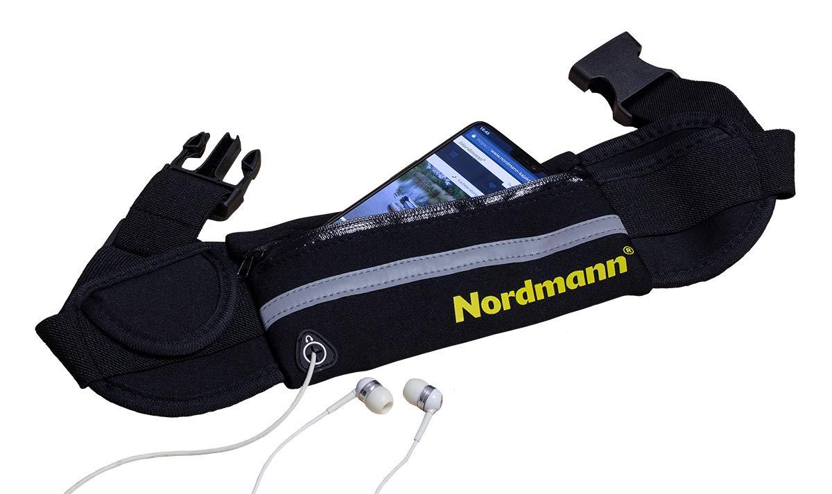 Wasserwandern Spritzwasser-Schutz Nordmann/® Bauchtasche aus Neopren Farbe Schwarz Kajak Fahren Paddeln Bauchg/ürtel Laufg/ürtel Handy Schutz Kanu Fahren