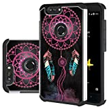 ZTE Blade Z Max Case, ZTE Sequoia Case, ZTE Blade ZMax Pro 2 Case, Harryshell Shock Absorption Drop Protection Hybrid Dual Layer Armor Defender Protective Case Cover for ZTE Z982 (A-1)