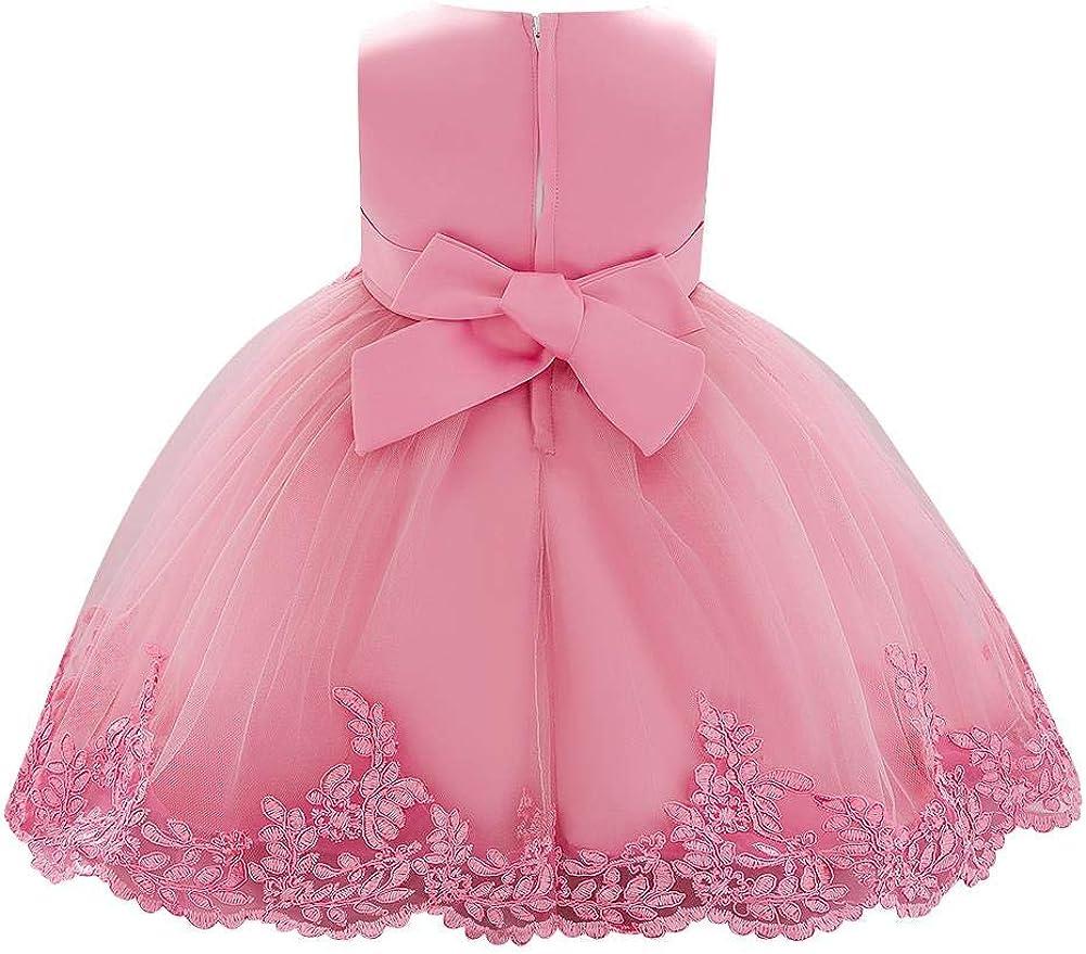 Bella- First Birthday Dress with multicolor handmade flower sash flower girl dress christening dress first birthday outfit baptism dress