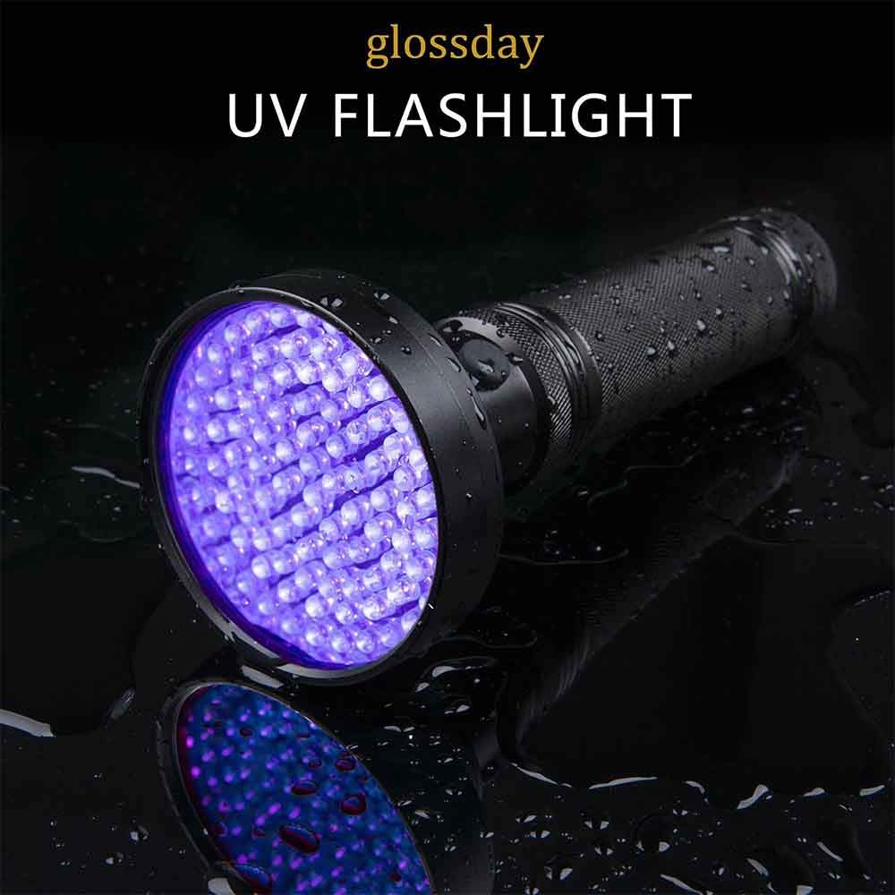 Youyababay UV Taschenlampe 100 LEDs 365nm Mini Ultraviolett Licht Urin detektor f/ür Eingetrocknete Urin Flecken von Hund und Katz Detektor f/ür unechte Banknoten