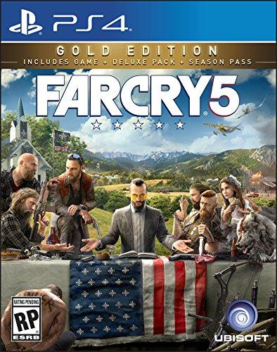 Far Cry 5 Steelbook Gold Edition - PlayStation 4 Gold Edition