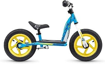 scool pedeX Easy 12R – Bicicleta Infantil (12, Blue/Yellow): Amazon ...