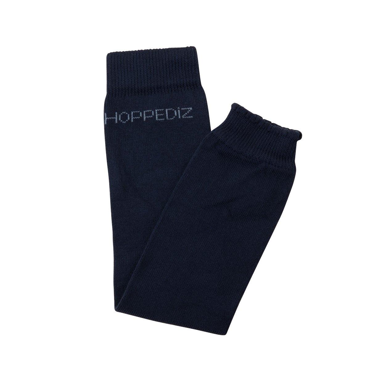Hoppediz beb/é org/ánico del algod/ón calentadores de la pierna crema