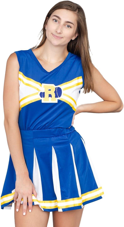 Ongebruikt Amazon.com: Riverdale Cheerleader High School Costume Outfit: Clothing PV-72