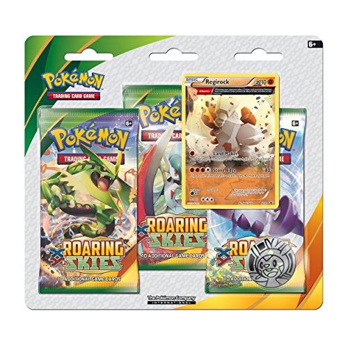 UPC 820650166792, Regirock XY Roaring Skies 3-Pack Blister: Pokémon Trading Card Game