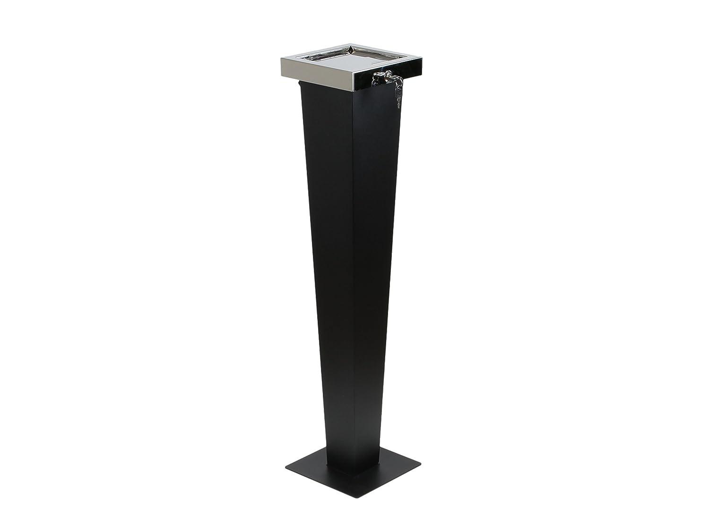 Posacenere di design - 3 in 1 - Contenitore & Piedistallo - Per uso interno ed esterno Adorini