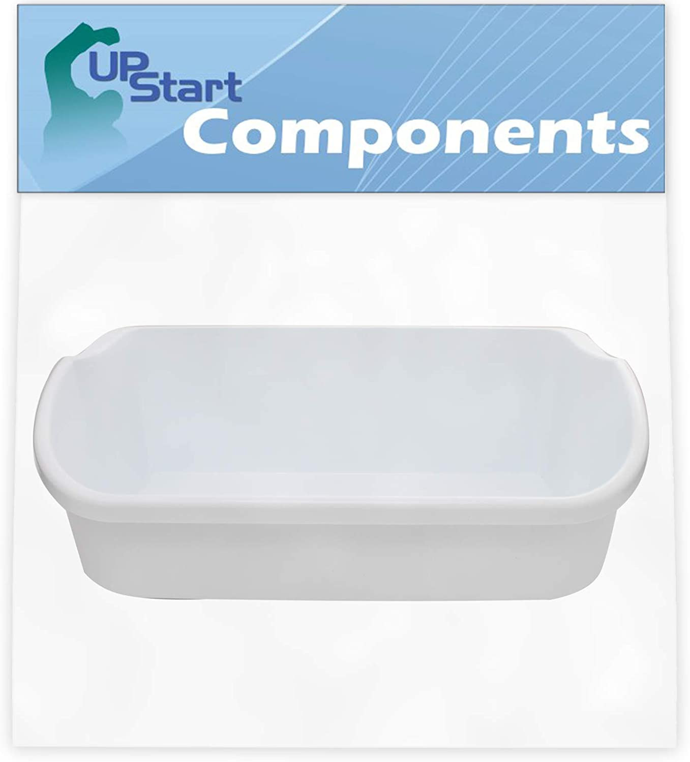 Compatible with 240356401 White Door Bin UpStart Components Brand 240356401 Door Bin Replacement for Frigidaire FRS6KR5JSB4 Refrigerator