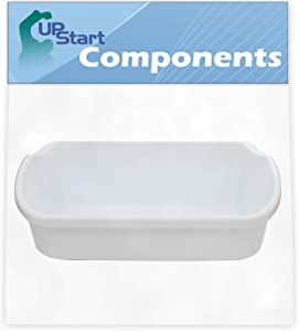 240356401 Door Bin Replacement for White Westinghouse WRS6W1EW0 Refrigerator - Compatible with 240356401 White Door Bin - UpStart Components Brand