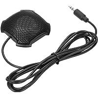 Docooler Micrófono de Condensador Ambiente Estéreo Mic 3.5mm Conector para Reuniones Comerciales Conferencia Computadora