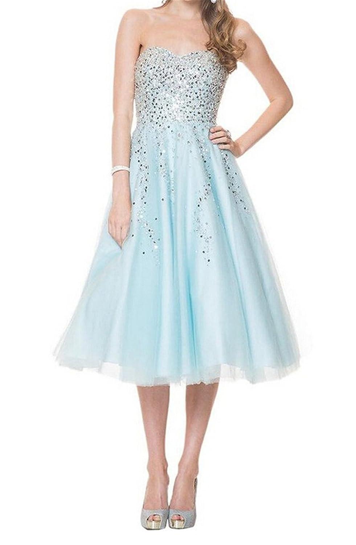 SimpleDressUK Chiffon Tulle Sequins Evening Prom Dresses
